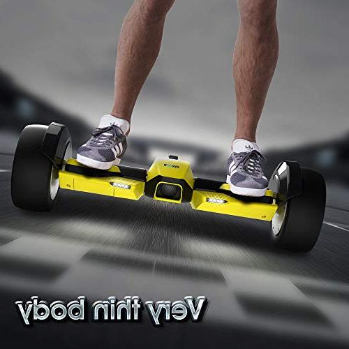 """Gyroor G-F1 Hoverboard with and LED Electric Certified, 8.5"""" Scooter for Adult"""