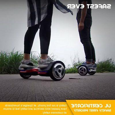 Spadger G1 Premium Hoverboard Auto-Balancing Wheel with Speaker