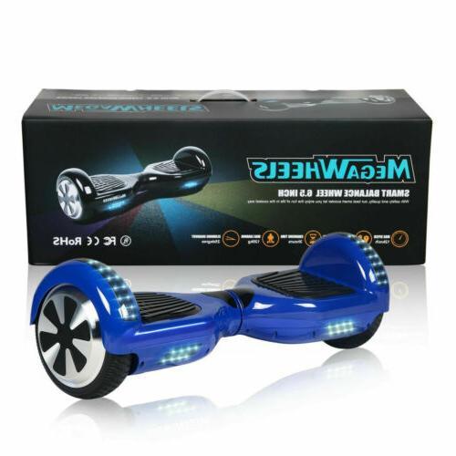 "Megawheels 6.5"" UL Hover-Board 2 Wheels Gold Electric Self B"