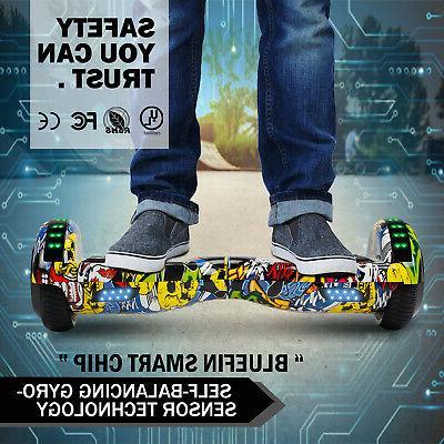 Graffiti Hoverboard Bluetooth Electric