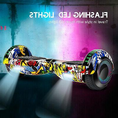 Graffiti Electric Self Balance With Carry