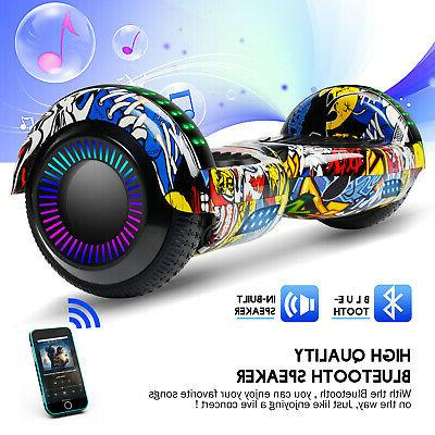 Graffiti Hoverboard Bluetooth Electric Self With Bag