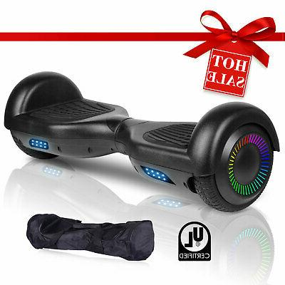 """6.5"""" Electric Hoverboard Self Balancing Scooter UL2272 LED 2"""