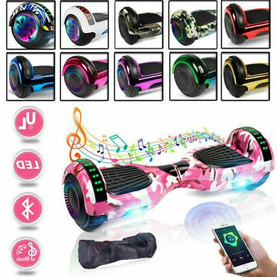 6.5/8.5'' Bluetooth Hoverboard Self Balance LED