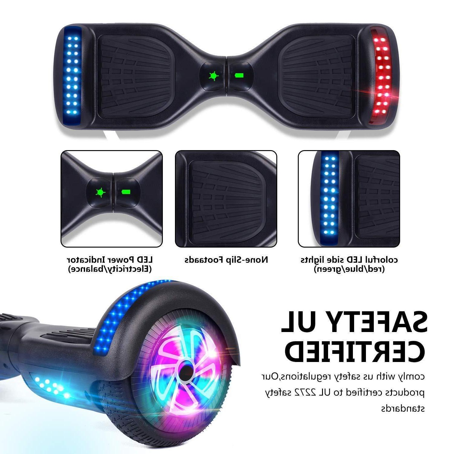 hover board led self scooter