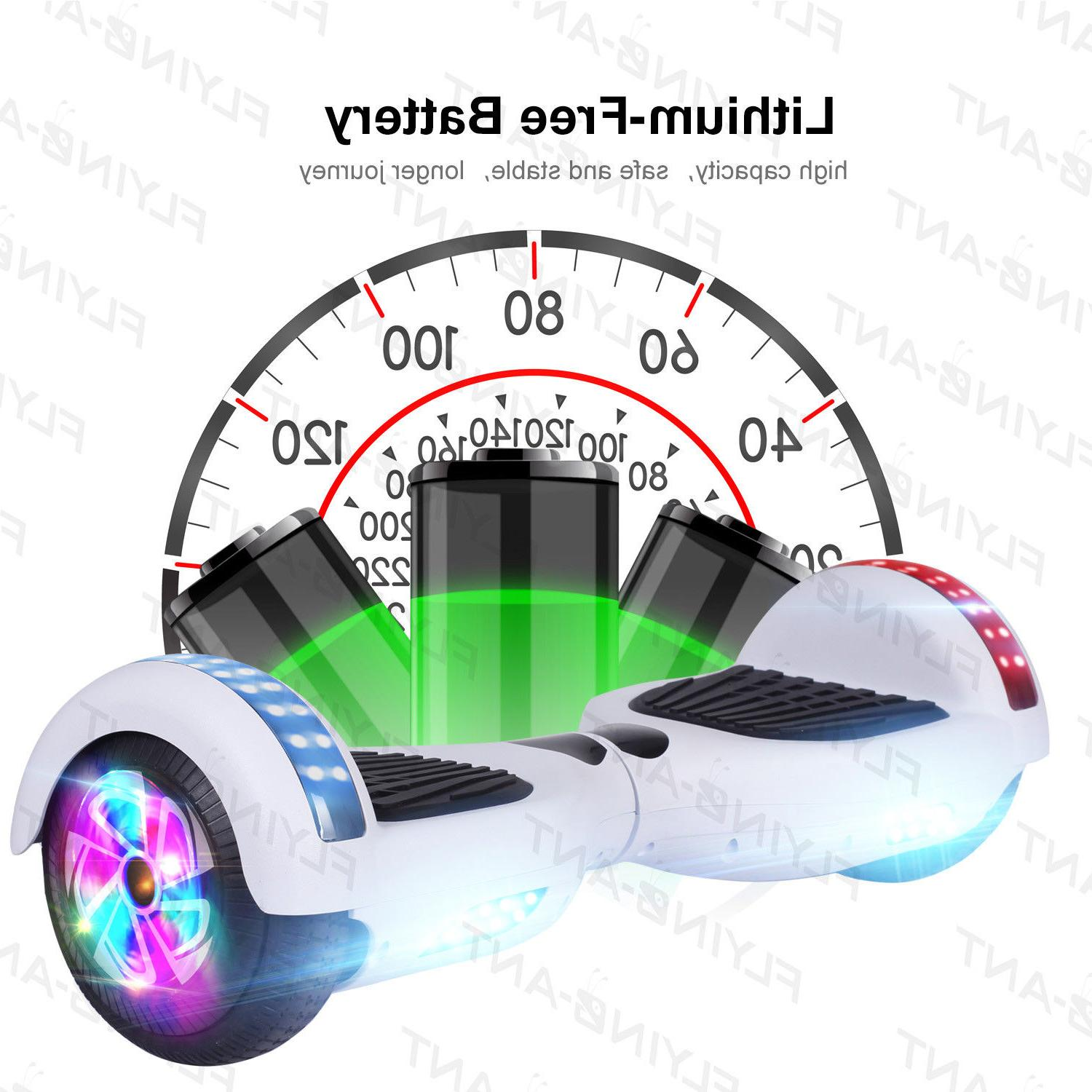 hover led hoverheart self scooter ul2272