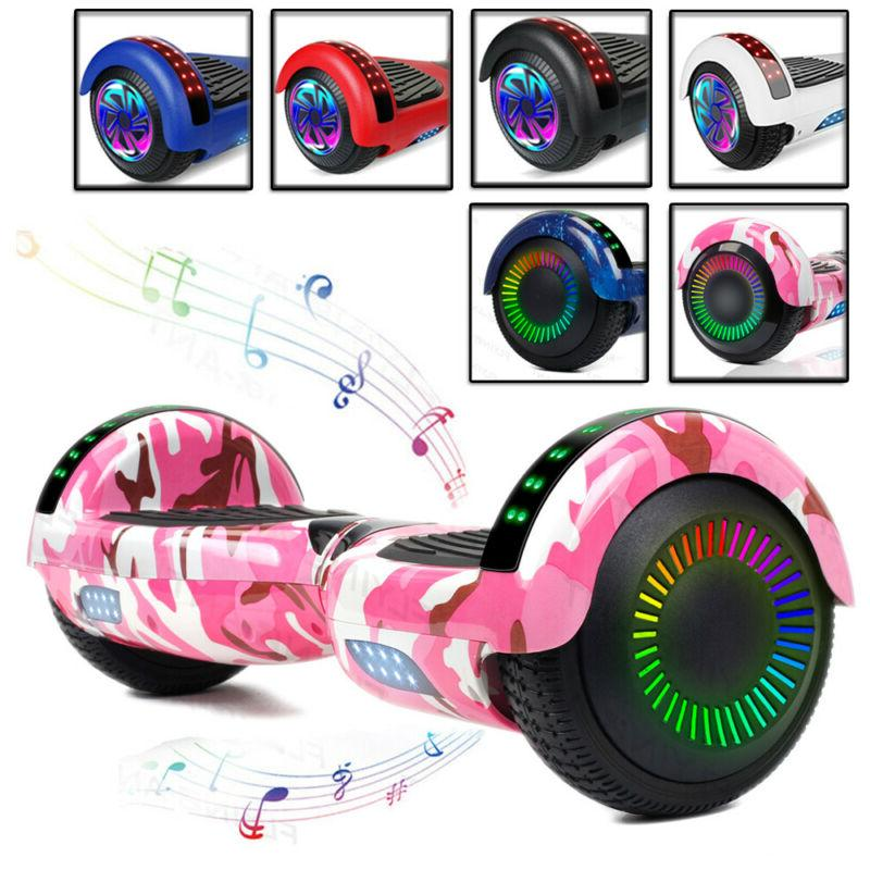 hover board bluetooth with led lights hoverheart