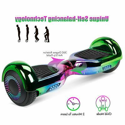 "6.5"" Bluetooth Speaker Hoverboard Self Electric LED"