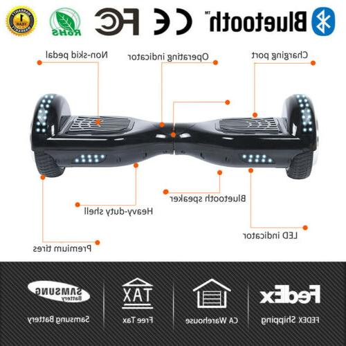 hover board ul2272 certified gold self balancing
