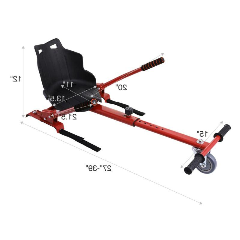 Hoverkart Electric Go-kart Kit Hoverboard Cart