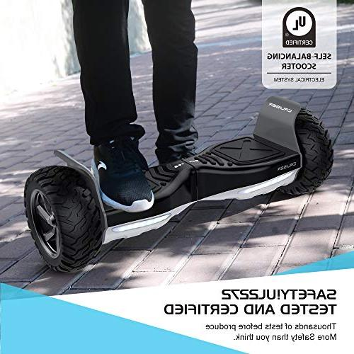 Electric Wheel Scooter - 8.5 UL Certified IP54 Hover Carry