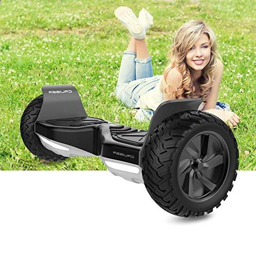 HYPER GOGO Hoverboard - Electric Smart Balancing Wheel Hoverboard 8.5 UL Certified IP54 Carry – Black
