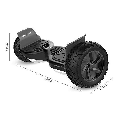 HYPER - Electric Smart Wheel 8.5 UL Certified IP54 with Carry – Black