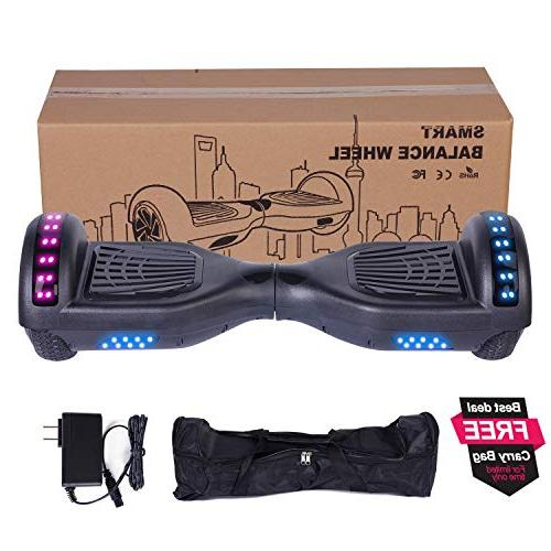 Felimoda Hoverboard for Kids and Self-Balancing UL2272 withColorful Lights