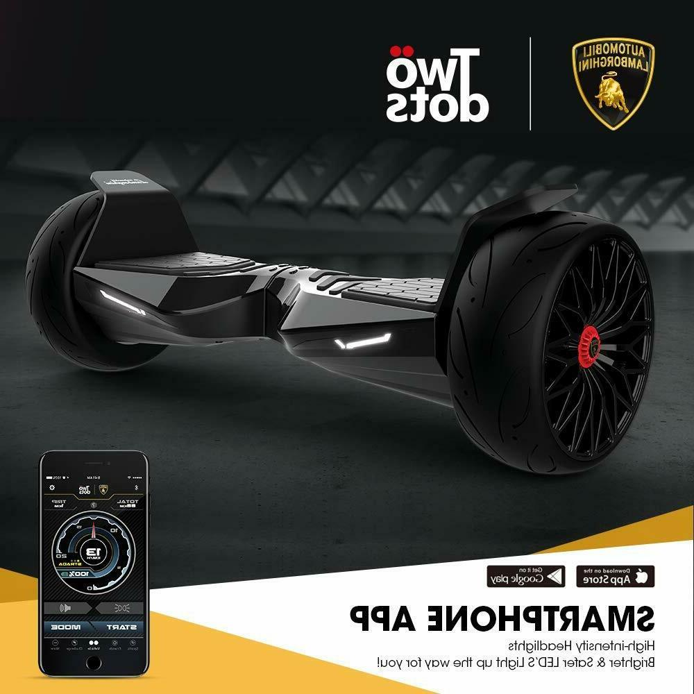 LAMBORGHINI Hoverboard HoverBoard Bluetooth Speaker LED Lights