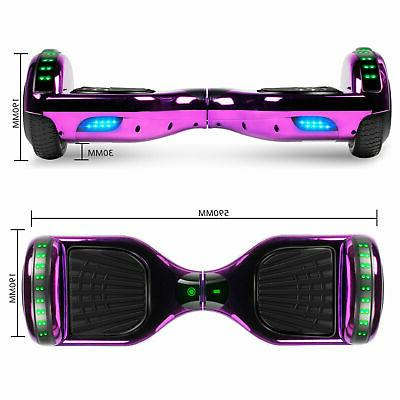 Hoverboard Bluetooth Self Balancing Scooter Without Bag LED