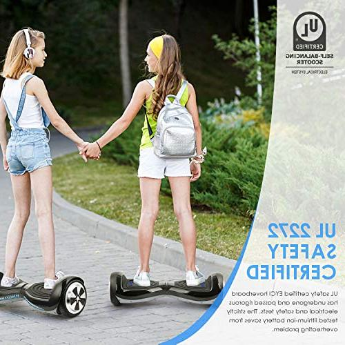 EYCI Balancing Certified Two Smart Wheel Scooter with 250W Dual-Motor Kids Adults