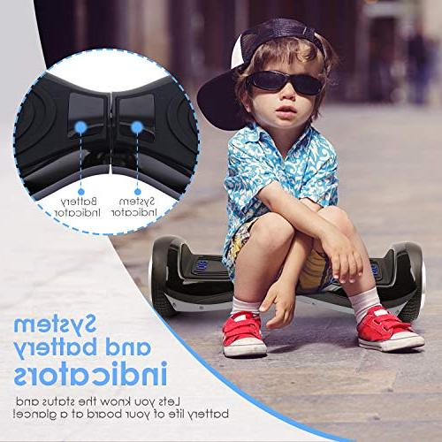 EYCI Hoverboard Electric Balancing 2272 Certified Two Smart Wheel with Dual-Motor Kids & Adults