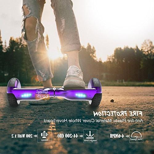Hoverboard Flash Self Balancing with UL 2272 Certified