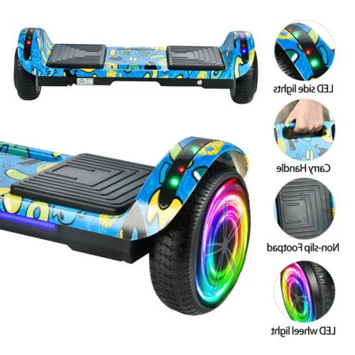 Hoverboard LED Bluetooth Electric Self Balancing Scooter 6.5""