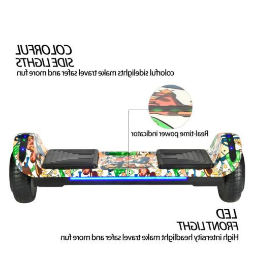 Hoverboard Bluetooth Electric Self 6.5""