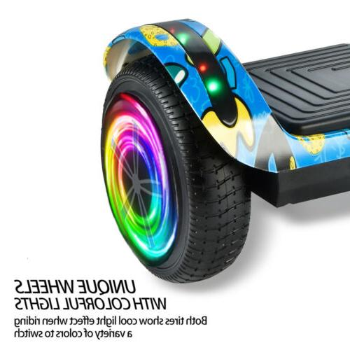 Hoverboard LED Bluetooth Electric Balancing 6.5""