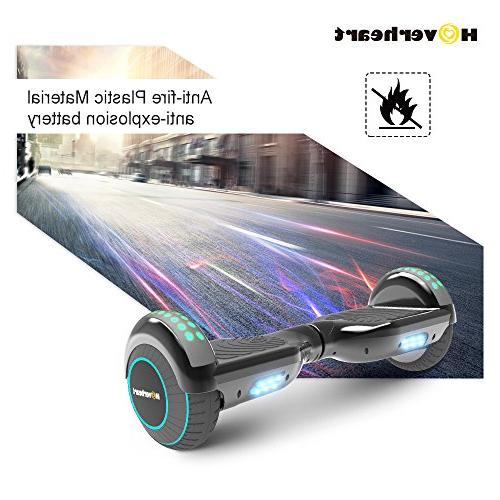 Hoverboard Two-Wheel Balancing Electric UL 2272 Certified, Chrome LED Light