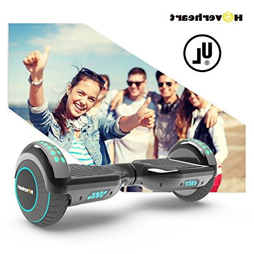 Hoverboard Lithium-Free Balancing Scooter UL 2272 Metallic LED