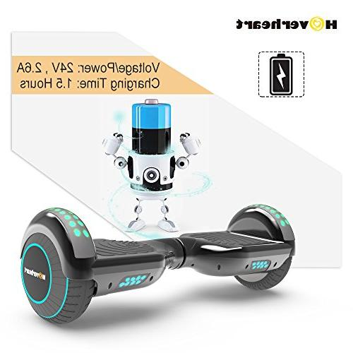 Hoverboard Lithium-Free Self Balancing Electric 2272 Metallic Chrome LED Light