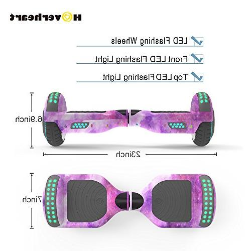 Hoverboard Lithium-Free Balancing Electric UL 2272 Certified, LED Light