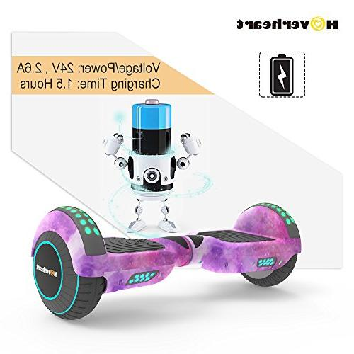 Hoverboard Lithium-Free Two-Wheel Self Balancing 2272 Chrome LED Light