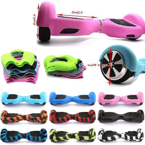 Silicone Hoverboard Scooter For Wheels