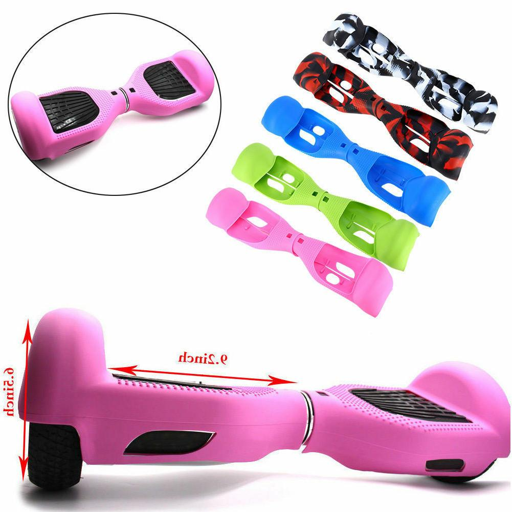 "6.5"" Self Balancing Rubber Electric Scooter Hover Board + Si"