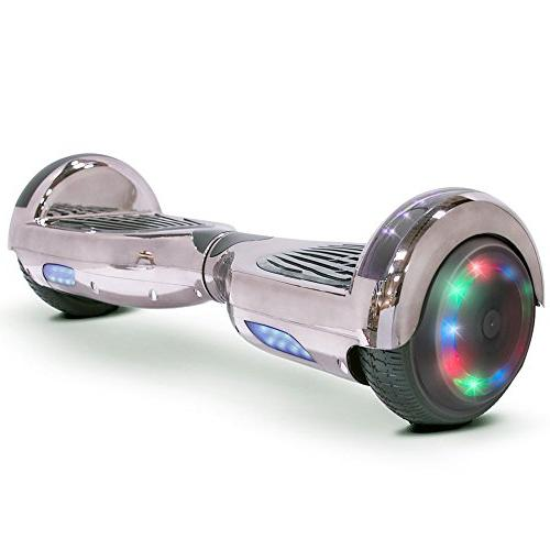 Go-Bowen New -Self Balancing Scooter 2 Wheel Electric Scooter UL Certified W/Speaker, LED LED Lights