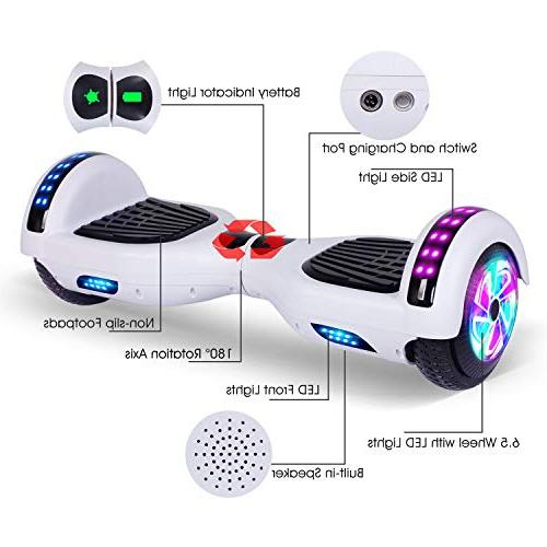 EPCTEK Scooter Hover for Kids with Certified,LED Carrying Bag