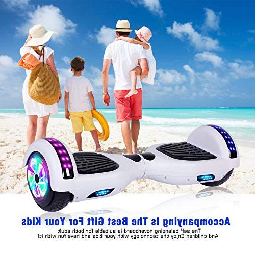 EPCTEK Scooter Board for Kids Adults UL2272 Certified,LED Carrying