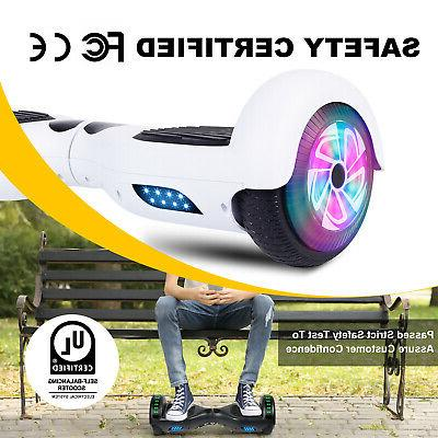 Hoverboard Self UL2272 Certified LED Side
