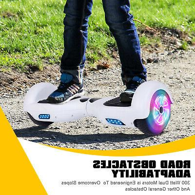 Hoverboard Self UL2272 Wheels LED Side Gift