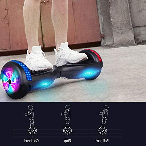 """Benedi Hoverboard Hover with Speaker 6.5"""" and Lights"""