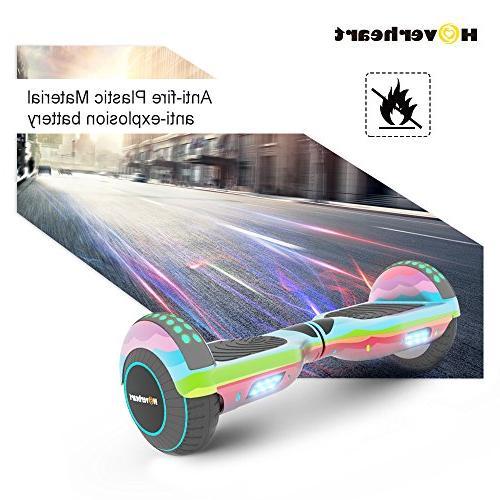 Hoverboard Self Electric UL Certified, Metallic Light