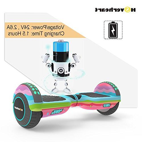 Hoverboard Two-Wheel Self Electric UL Certified, Metallic Chrome Light
