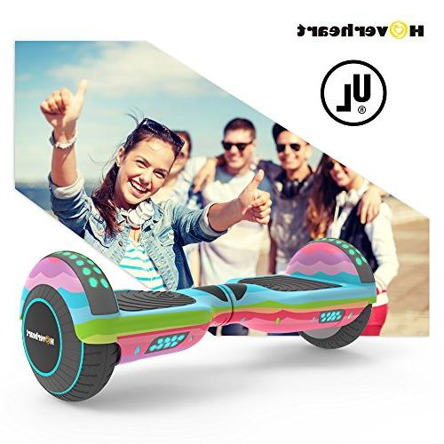 Hoverboard Electric Scooter UL 2272 Certified, Metallic