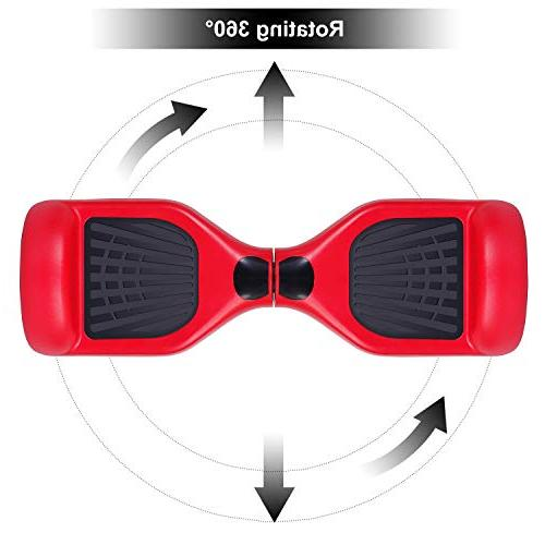 EPCTEK Two-Wheel Self Balancing Electric Scooter Board UL2272 Certified Smart with LED Carry