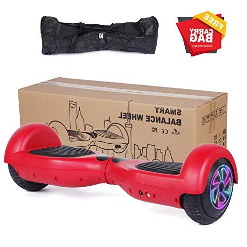 """CBD Scooter Hover Board 2272 with 300W Frontlights,Free Bag,6.5"""" Flashing"""