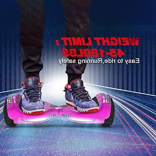 Hoverboard 2272 Flash Bluetooth Speaker LED Self Wheel Scooter