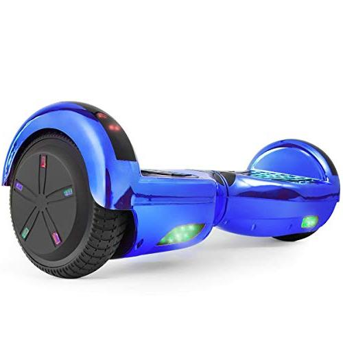 """WorryFree 6.5"""" Bluetooth with LED Light Wheel Colors"""
