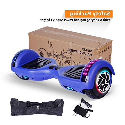 SENGYUE Hoverboard UL2272 Two Electric 300W Motors Smart Gift - Series/LED Marquee/Bluetooth Speaker
