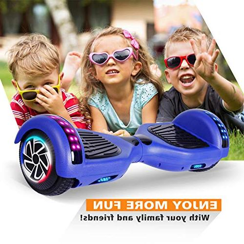 """SENGYUE Hoverboard Two 6.5"""" Electric Scooter Motors Board Gift Adult Kids - Classic Series/LED Marquee/Bluetooth Speaker"""