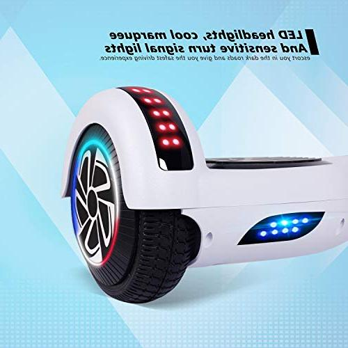 Two Self-Balancing Electric Motors Adults Kids Classic Series/LED Marquee/Bluetooth