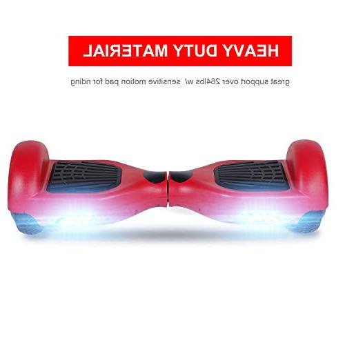 SWEETBUY Hoverboards 6.5 Smart self Light Free Charger